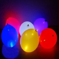 Glowing balloons (multicolored)