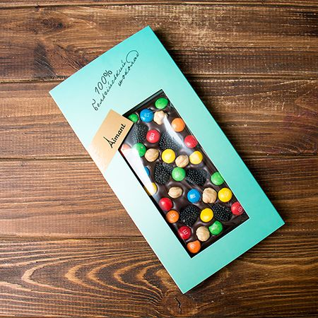 Product Dark belgian chocolate «Chocolate joy»