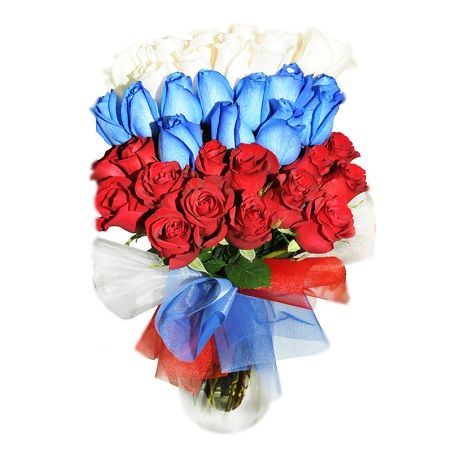 Bouquet Tricolor