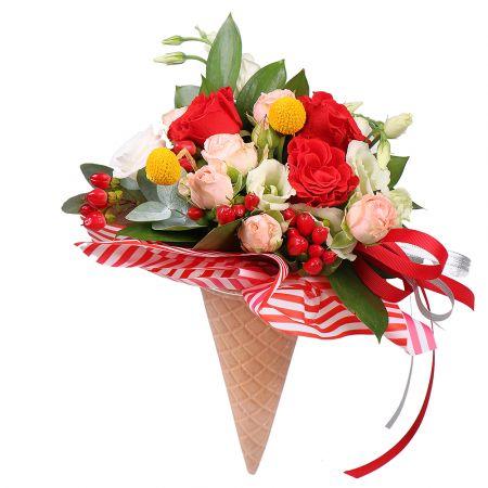 Bouquet Flower ice-cream