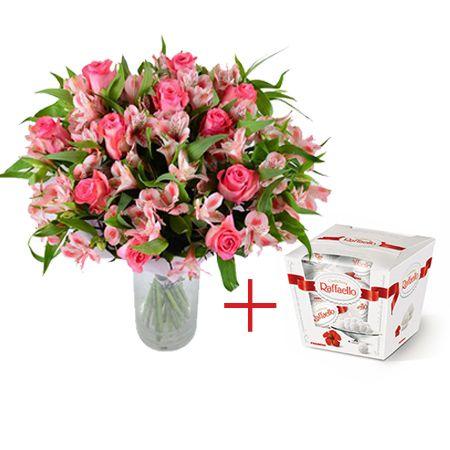 Bouquet Great day + Raffaello