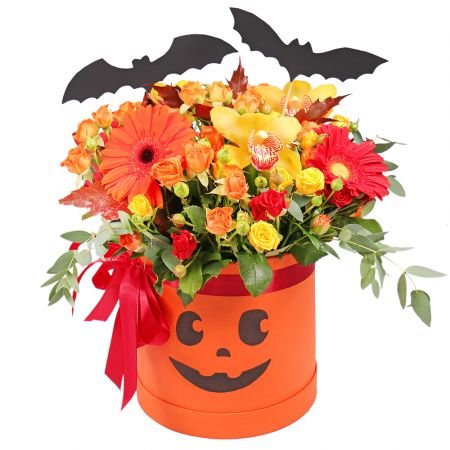 Bouquet Happy Halloween
