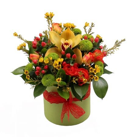 Order flowers in our online shop