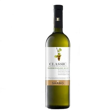 Product Wine Chateau Shabo classic semisweet white, 0.75 L