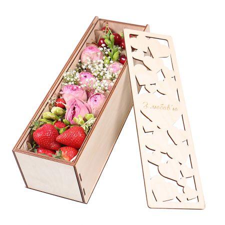 Bouquet Berry-flower mix