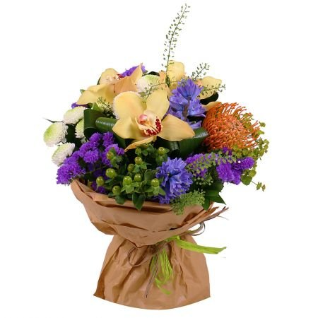 Buy a beautiful bouquet of flowers ''Bright candy'' with delivery to any destination