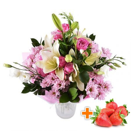 Bouquet Junona  + strawberry