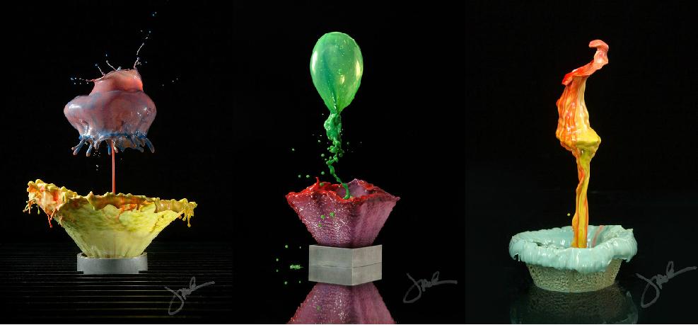 Liquid flowers