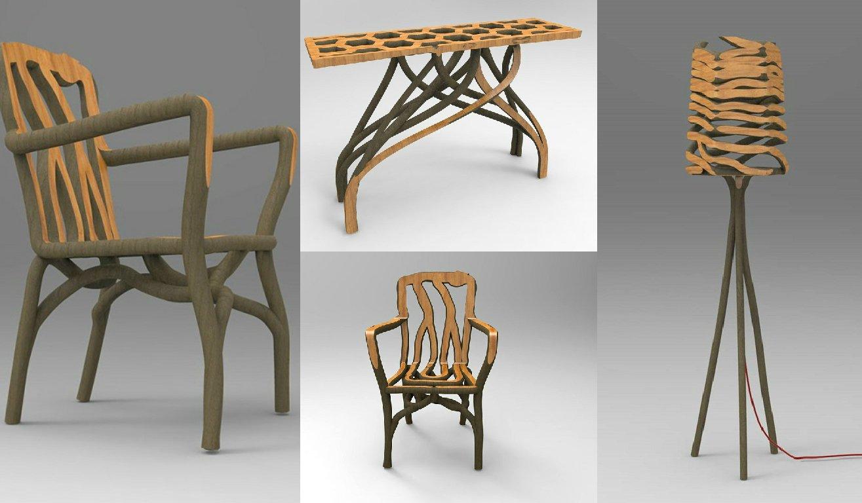 Grown-furniture