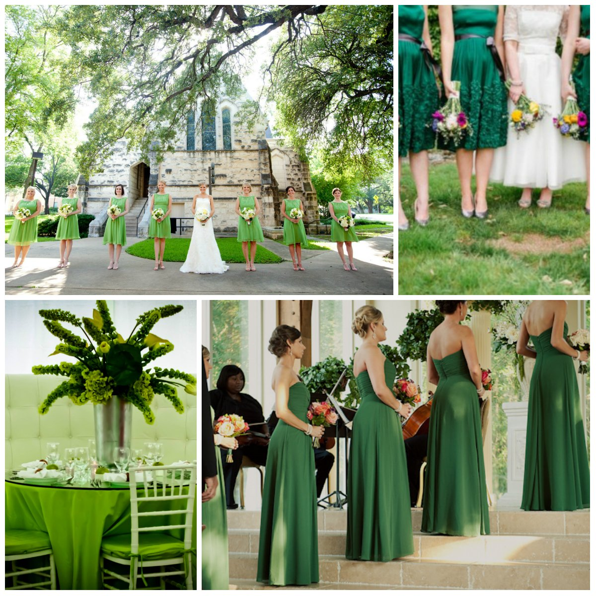 Green Wedding Ideas: Wedding In Green: Design From A To Z