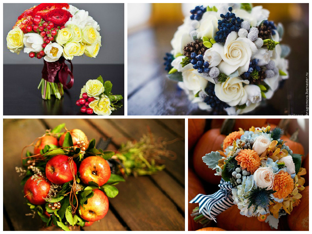 Bouquets of berries