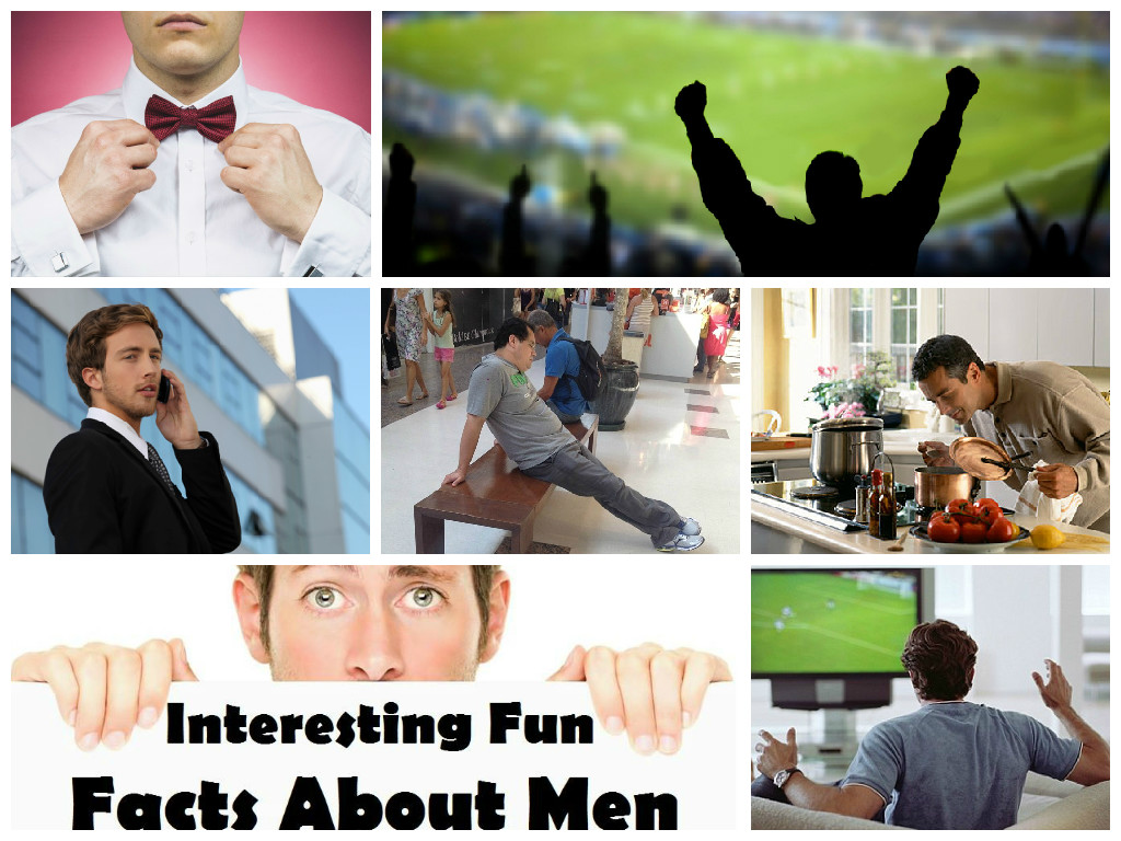 Fanny facts about men