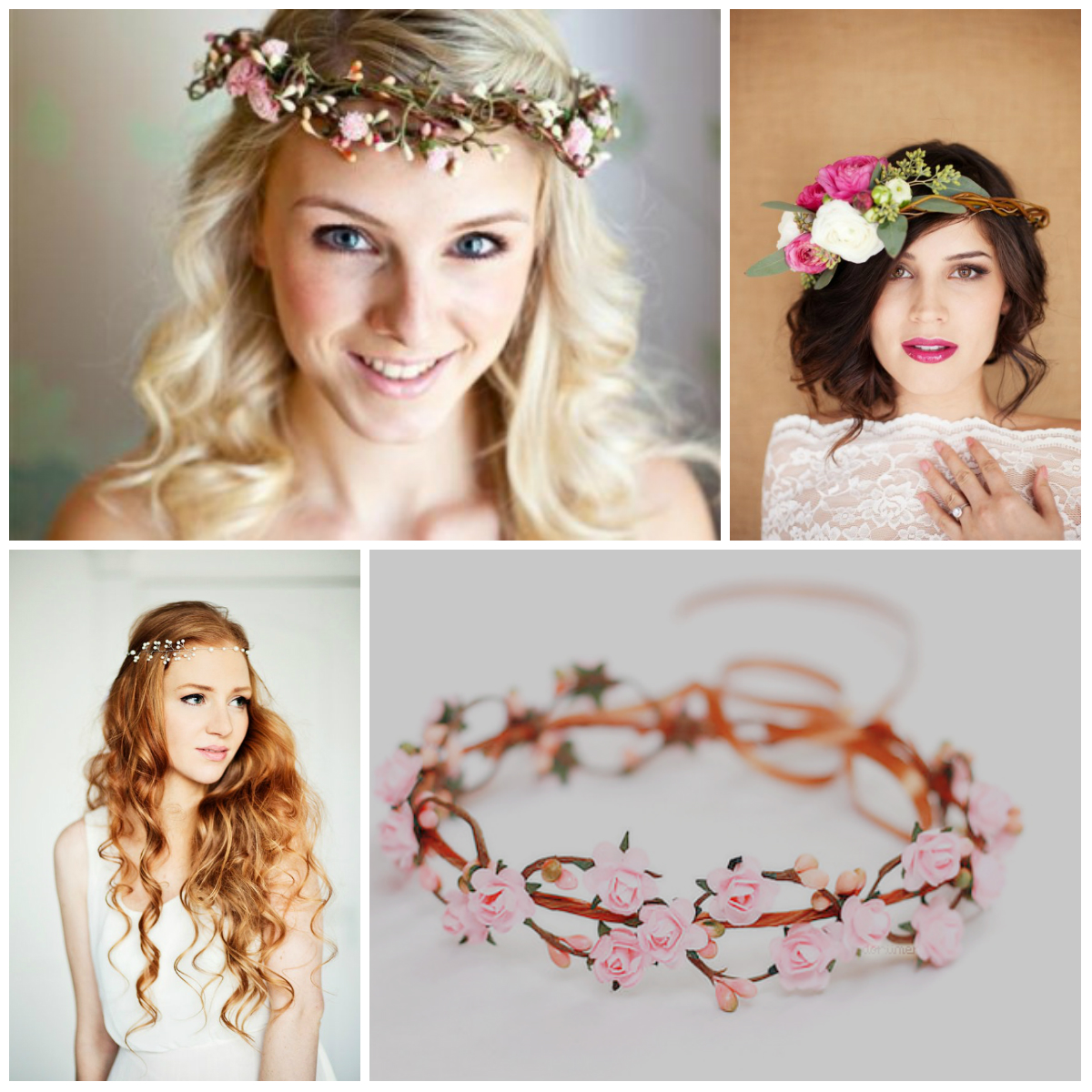 Wedding Hairstyle With Flowers: Wedding Hairstyles With Flowers