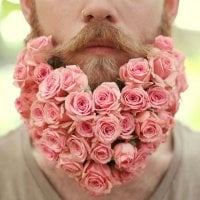 Flowers and The Guy Beards: new male style