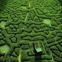 Masterpieces of Landscape Art - Natural Mazes