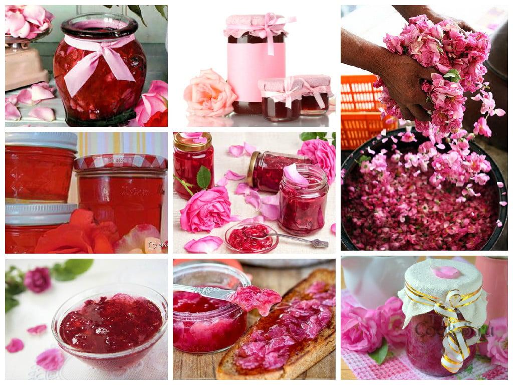 Rose petals jam