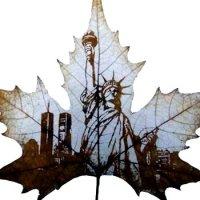 Unusual art - Cut Leaf Artworks