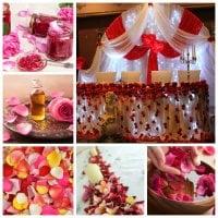 Using Rose Petals...