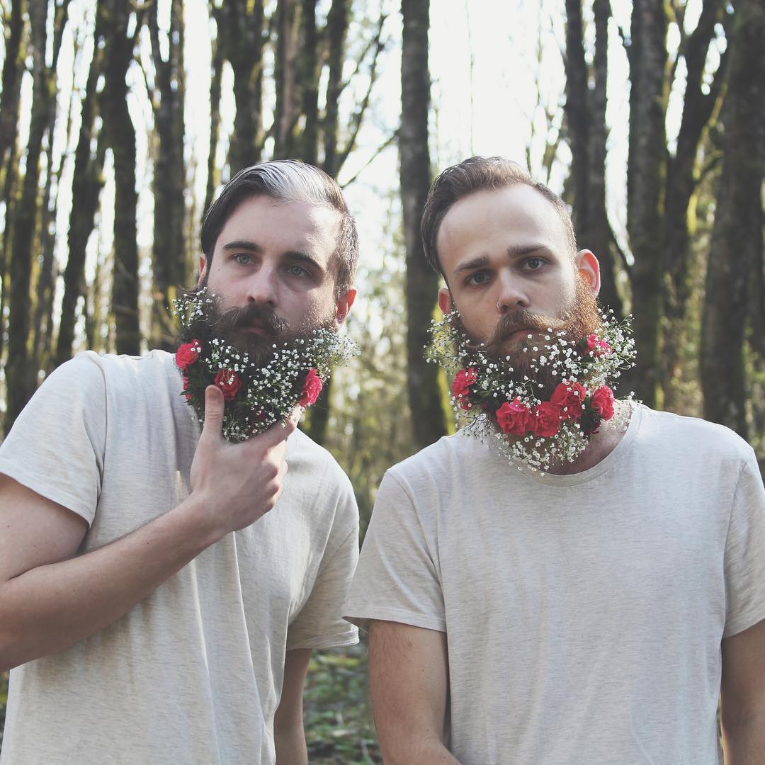 Flowers for male style